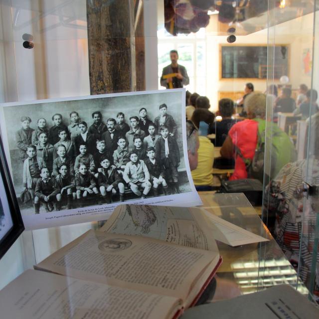Enfants Anciennes Photos Classe Buzine Oti Aubagne