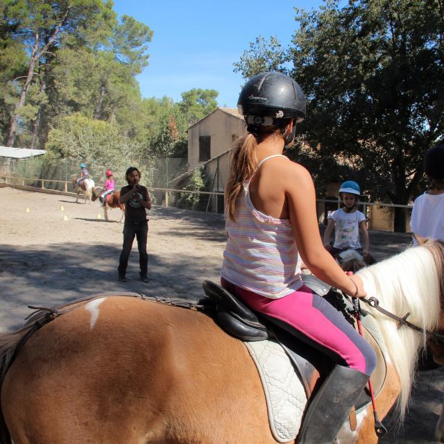 Equitation Cours La Provence A Cheval Oti Aubagne