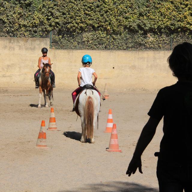 Equitation Parcours La Provence A Cheval Oti Aubagne