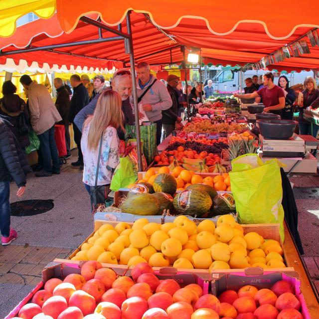 Etal Fruits Marche Oti Aubagne