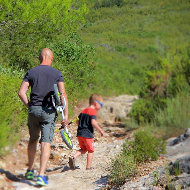 Famille Loisirs Sentier Nature Oti Aubagne