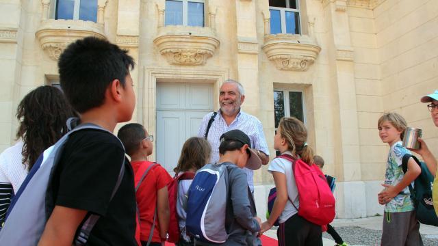 Groupe Scolaires Visite Chateau Buzine Pagnol Oti Aubagne