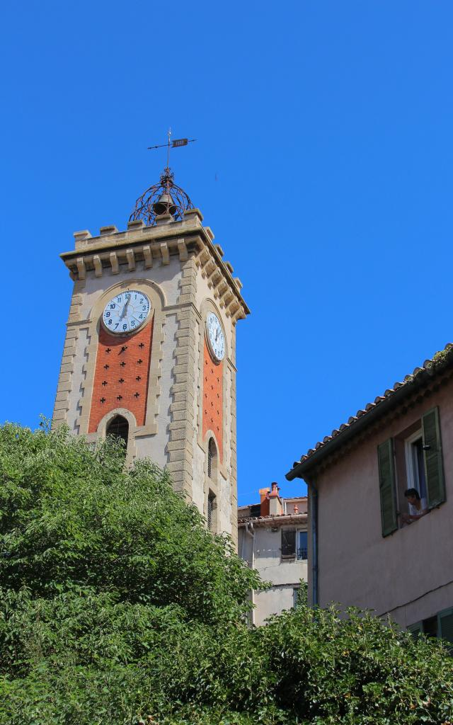 Horloge 1900 Centre Historique Aubagne Oti Aubagne
