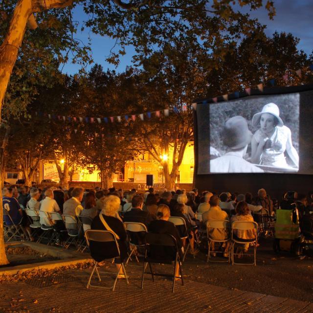 Pagnol Cinema Plein Air Auriol Oti Aubagne