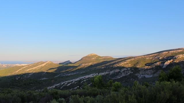 Panorama Massif De L'etoile Nature Oti Aubagne