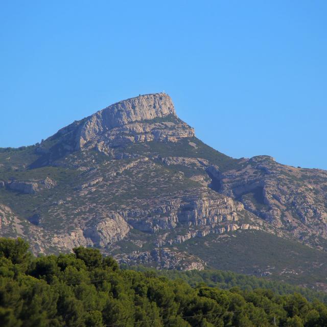 Panorama Massif Du Garlaban Massif De L'etoile Oti Aubagne