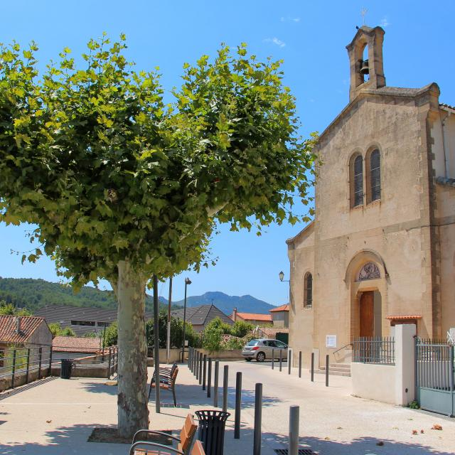 Place Eglise La Bouilladisse Oti Aubagne
