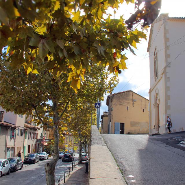 Rues La Destrousse Oti Aubagne