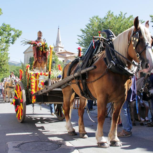 Saint Eloi Cavalcade Tradition Cuges Les Pins Oti Aubagne