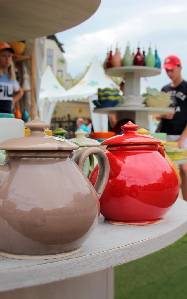 Theieres Ceramique Marche Ete Argile Poterie Massucco Oti Aubagne