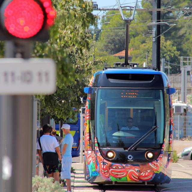 Tramway Transport Aubagne Oti Aubagne
