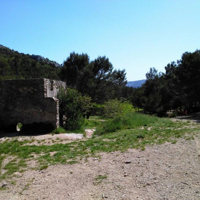 Ferme d'Angèle - massif du Garlaban