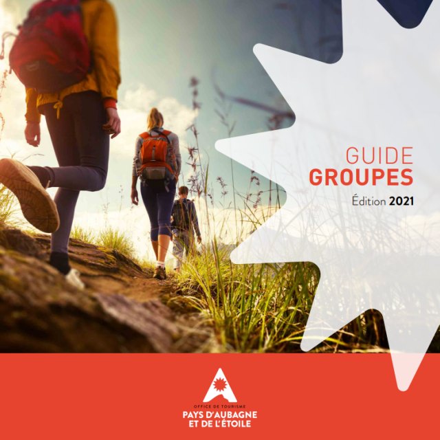 Couverture Guide Groupes 2021