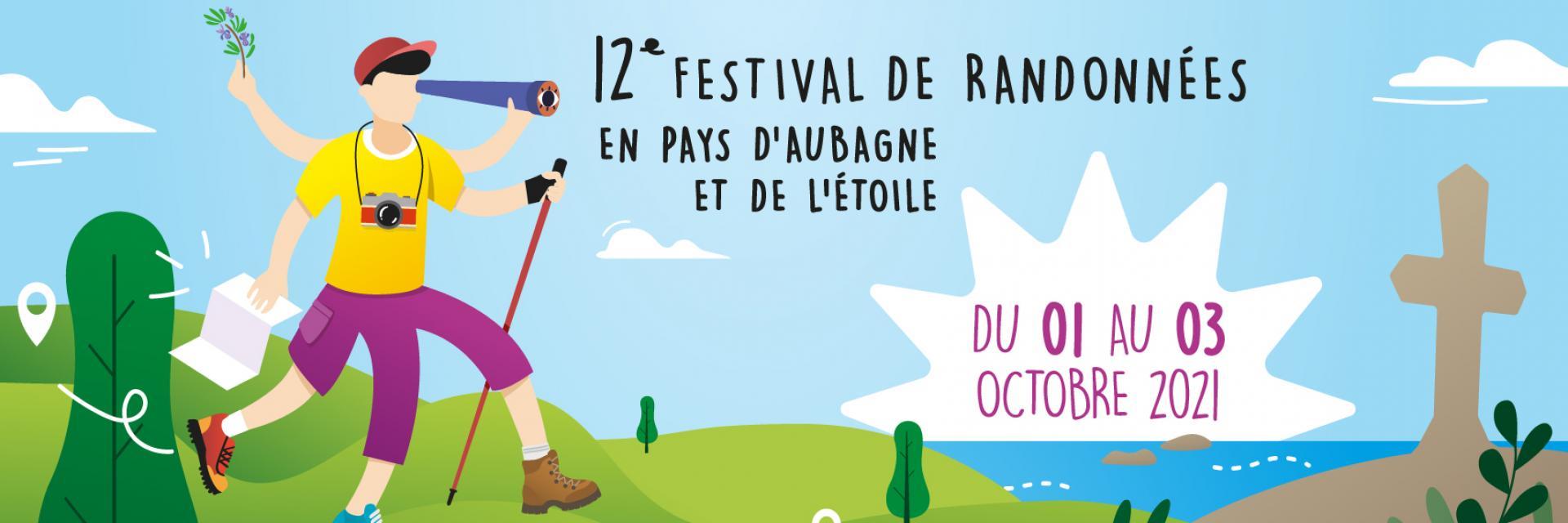 Affiche Festival de Randonnées