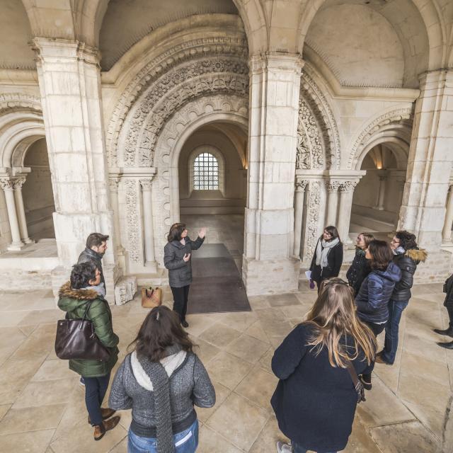 Tour commentée Abbaye Saint-Germain