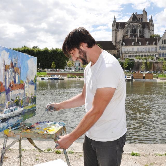 Dessine Moi Auxerre Josette Laliaux
