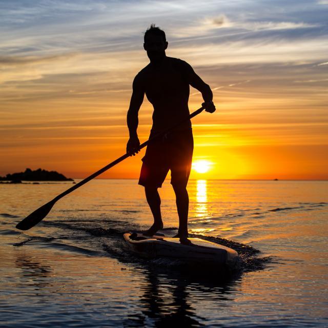 Paddle au petit matin