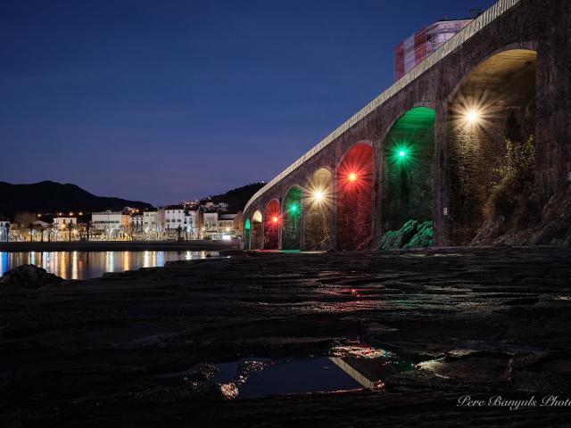 Arcades Lumières Nuit