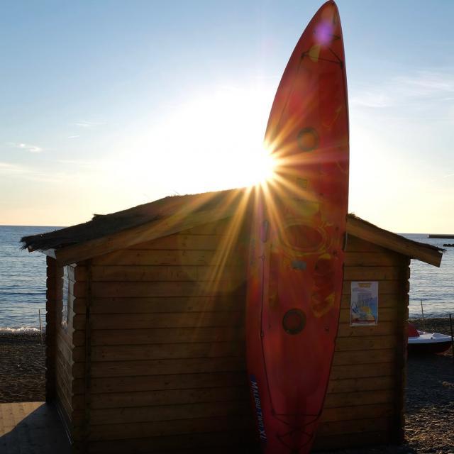 Kayak Plage Soleil été
