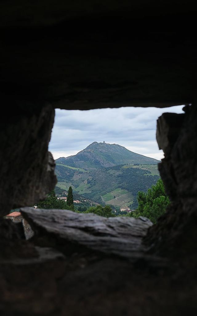 Paysages Fenêtre Avec Vue Sur Madeloc