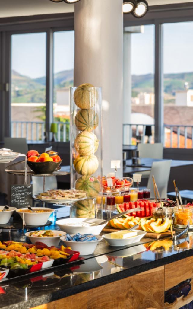 Petit déjeuner Coté Thalasso Banyuls