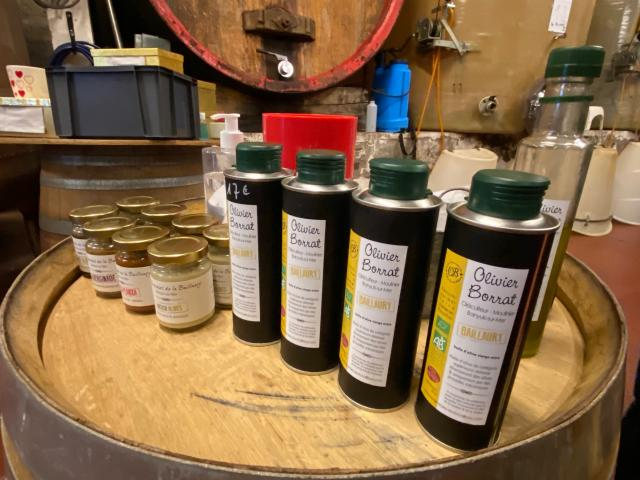 Degustation Huile Olive Banyuls