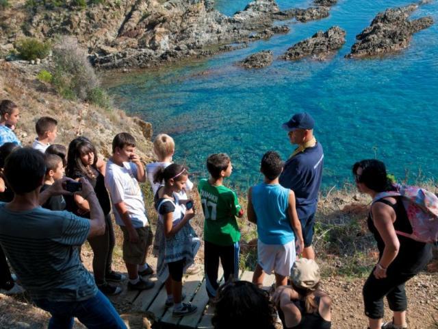 Reserve Marine Activités Pédagogiques Avec Collégiens 93