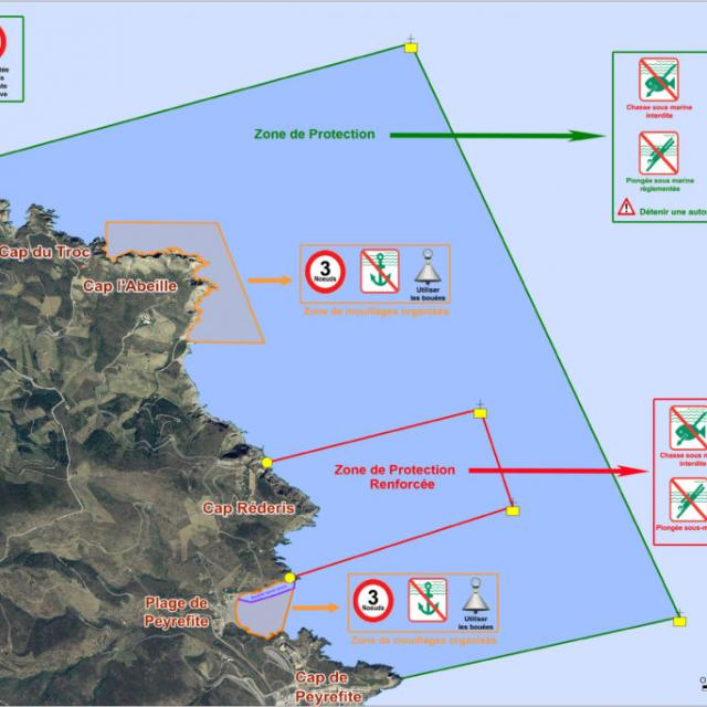Réserve Marine Carte
