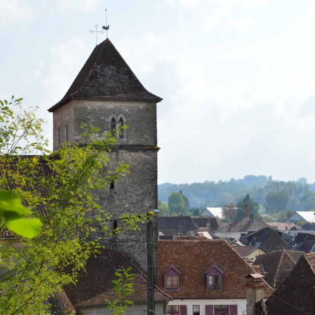 L'église Saint-Vincent à Salies-de-Béarn