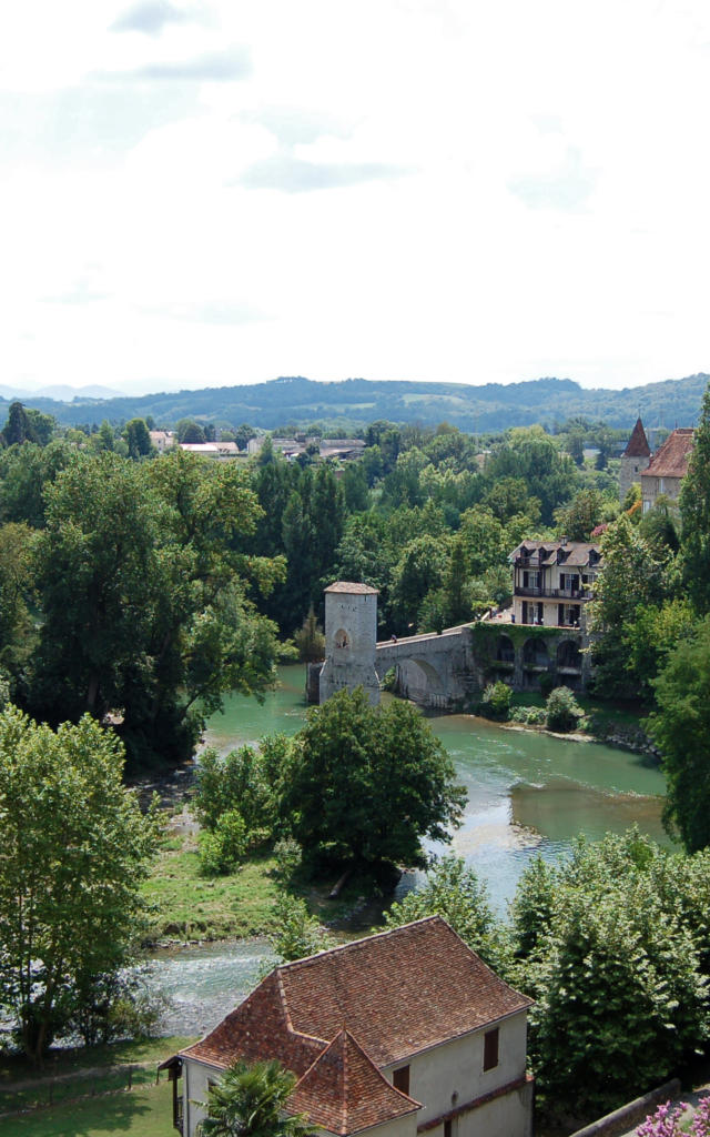 Pont de la Légende à Sauveterre-de-Béarn