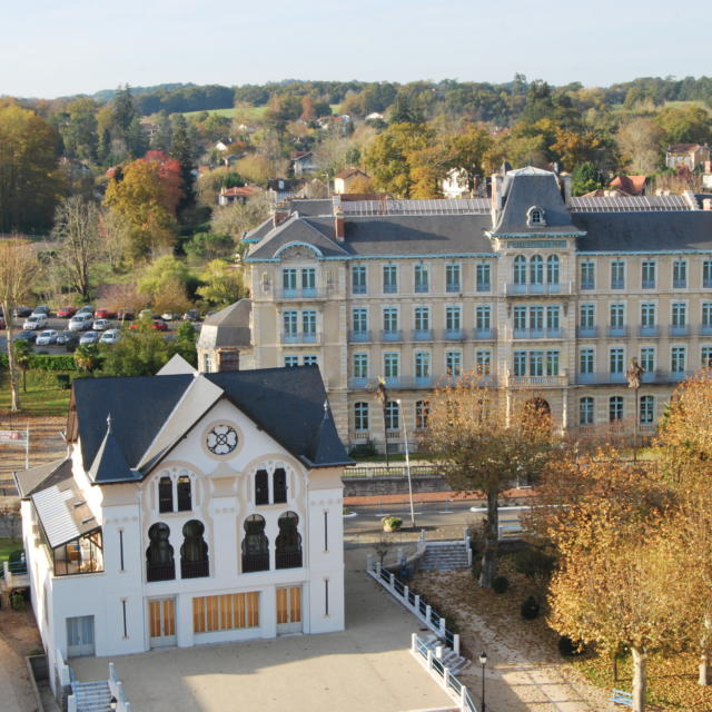 Le quartier thermal de Salies-de-Béarn