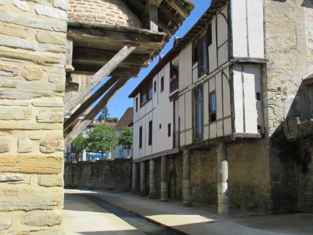 Les bords du Saleys à Salies-de-Béarn