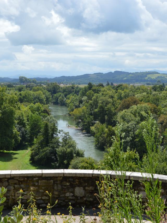 Vue Depuis Sauveterre De Béarn
