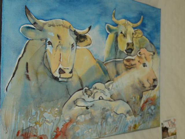 Concours Art Vache 2015