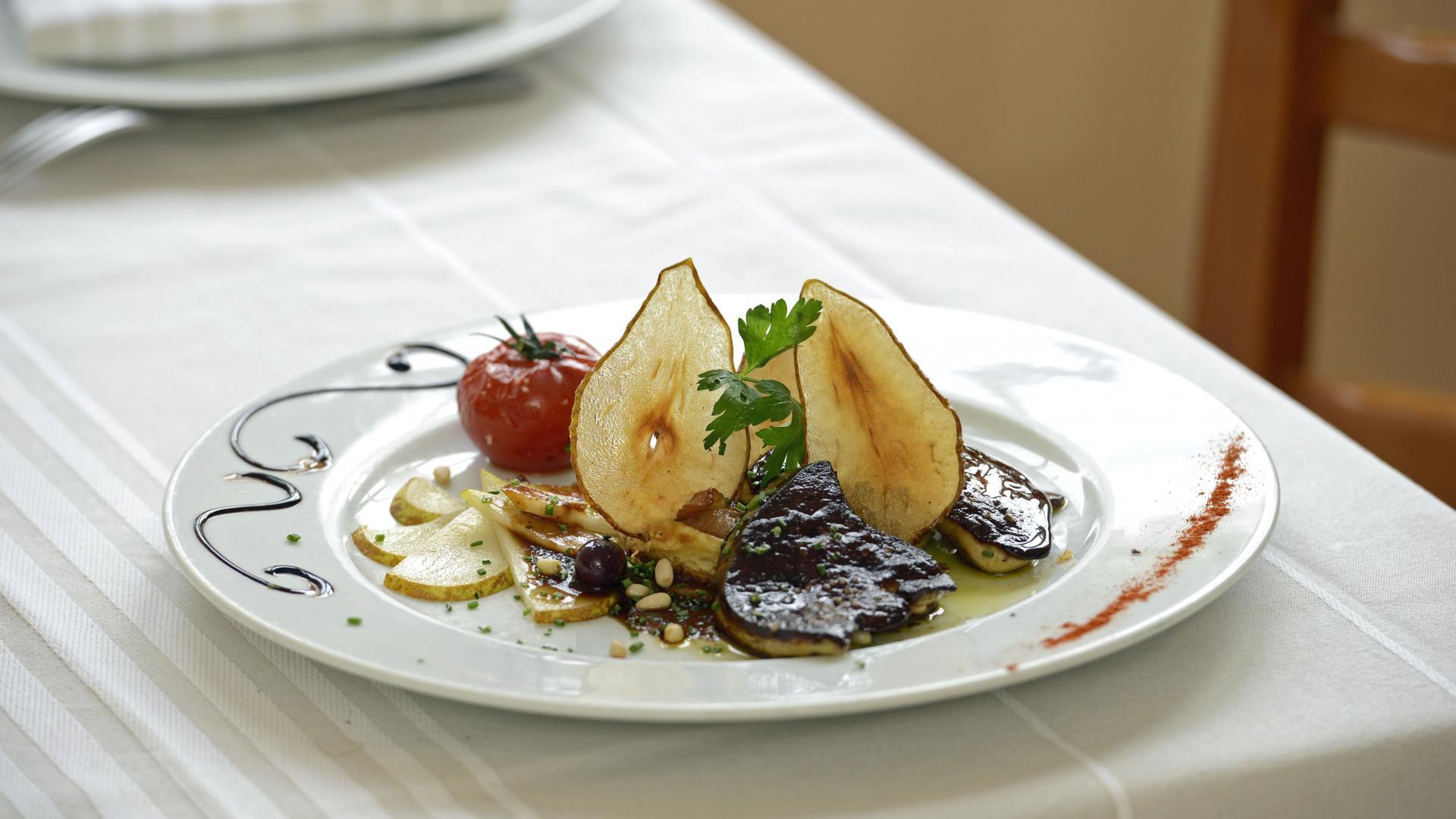 Plat du restaurant La Belle Auberge