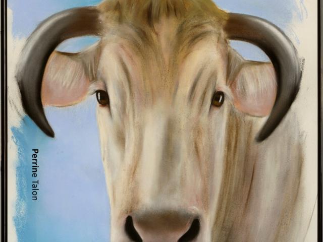 Peinture Art Vache Talon Affiche 2.png