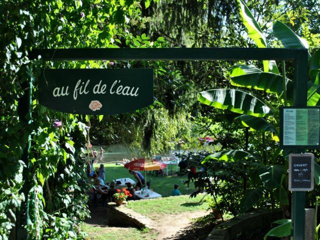 Au fil de l'eau à Sauveterre-de-Béarn