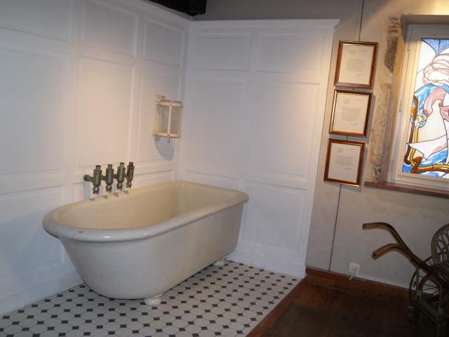 Musée du Sel - Cabine de bain thermal