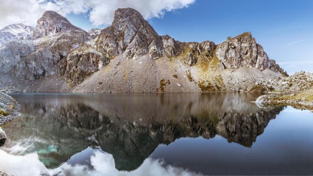 15.6175 Lac Du Petit Domenon Chaine De Belledonne Isere