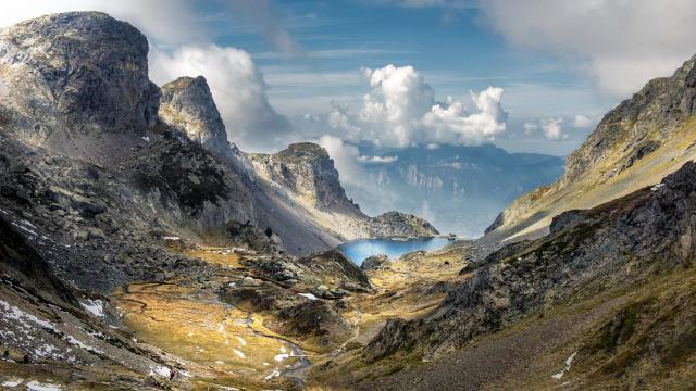 Lac Du Crozet Massif De Belledonne Isere