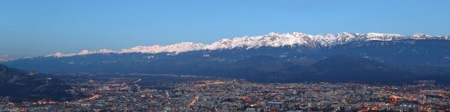 Chaine De Belledonne Depuis Grenoble Urope