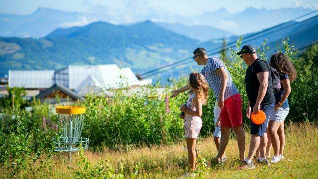Disc Golf en famille à Prapoutel Les 7 Laux