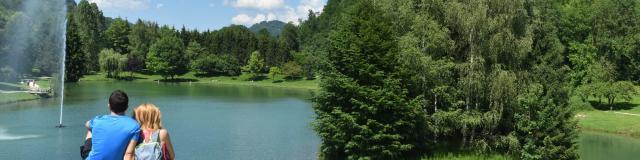Lac de la mirande à Allevard-les-Bains