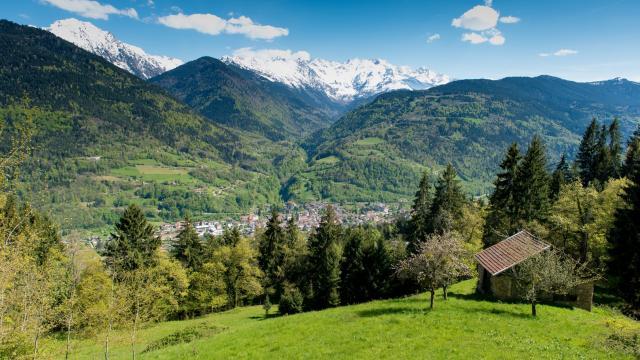Allevard-les-Bains station thermale au coeur du massif de Belledonne