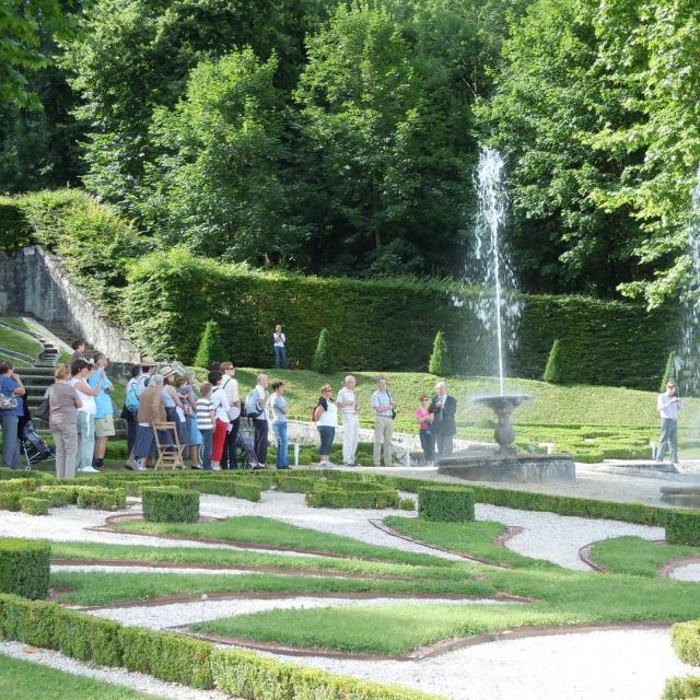 Elévation Des Eaux Jardins Du Château Du Touvet Bd