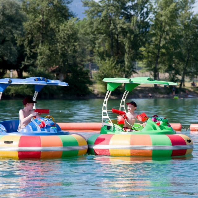 Lac de la Terrasse - Jeux d'eau