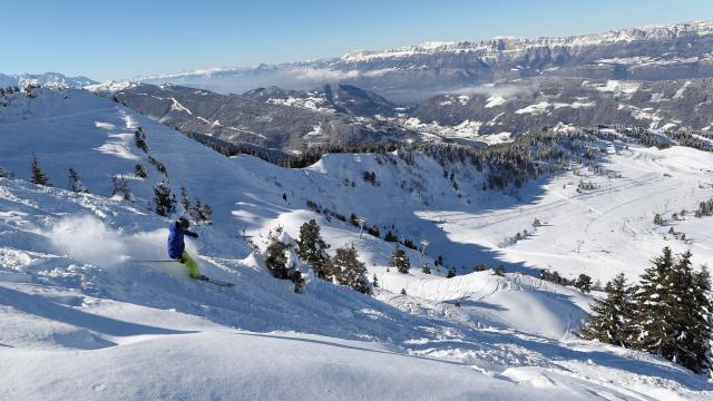 Le Collet station de ski isere massif de belledonne