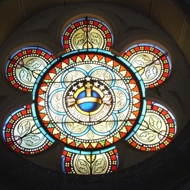Rosace Chapelle Bd