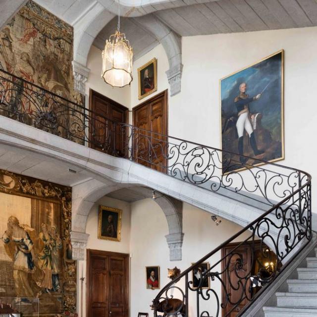 Vestibule Du Château Du Touvet