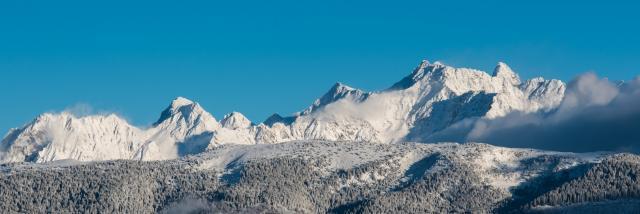 Les sommets du Massif de Belledonne
